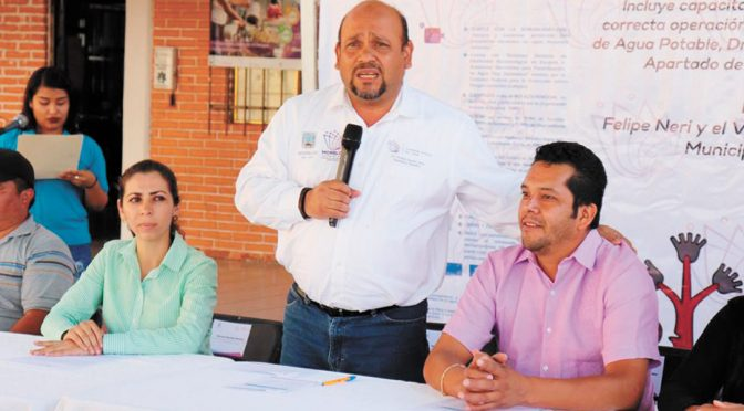 Dan filtros de agua en Tlalnepantla (Diario de Morelos)