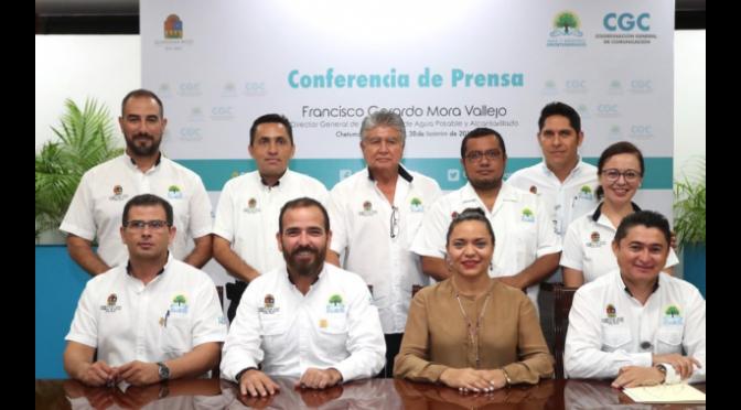 Quintana Roo: Urge Gerardo Mora a crear una ley de agua potable (La jornada maya)