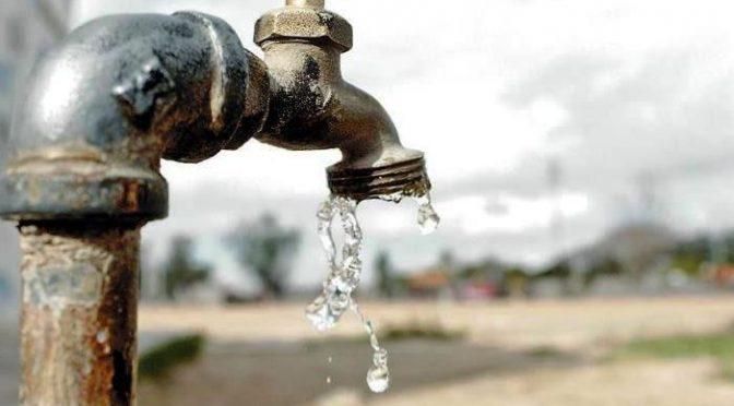 Menos agua y más problemas (Milenio)