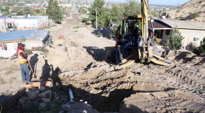 Chihuahua: Fuga de agua en Anapra fue en zona de trabajos del Gobierno Municipal (El Mexicano)