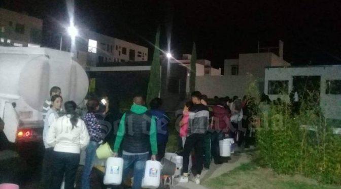 Tlaxcala: Cortan suministro de agua potable en Ocotlán; vecinos señalan que hay adeudo en la CFE (El Sol de Tlaxcala)