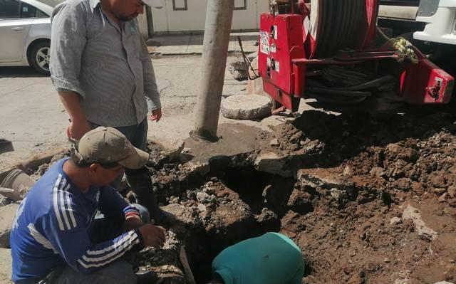 Soledad: Hundimiento en la San Antonio, no es por fuga de agua: Interapas (El Sol De San Luis)