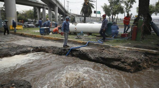 EDOMEX: Perforarán pozos en Ecatepec para mejorar suministro de agua (La Jornada)