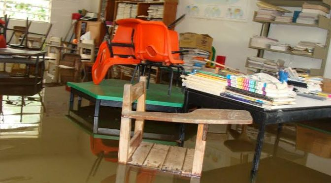 Tabasco: Por definirse acciones en escuelas cercanas a ríos (Inperfecto)
