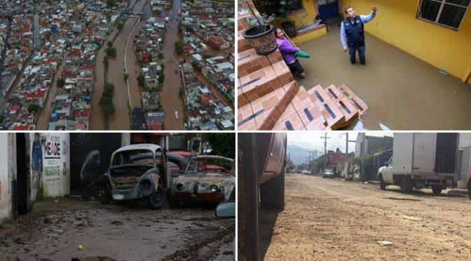 Michoacán: Morelia, a un año de las mega inundaciones y no hay obras para enfrentar otro desastre (La voz de Michoacán)