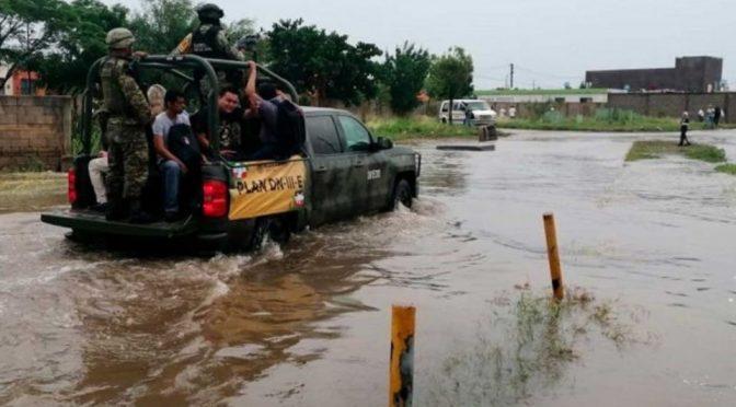 Tamaulipas: Lluvia desborda río y causa estragos en Aldama (Debate)
