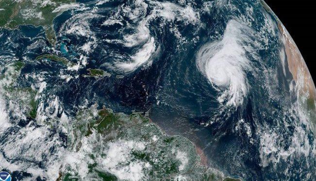 """Miami: Huracán """"Lorenzo"""" se acerca al archipiélago de las Azores (El Universal)"""