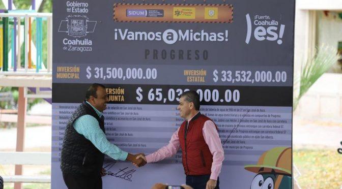"Coahuila: Ponen en marcha ""Vamos a Michas"" en Progreso (Milenio)"