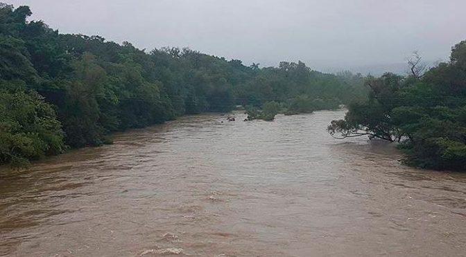 San Luis Potosí: Nivel del río Axtla subió 28 centímetros (Pulso)