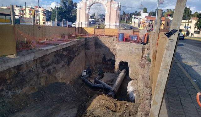 Construyen obras para automatizar distribución de agua en el centro de Puebla (El Sol de Puebla)
