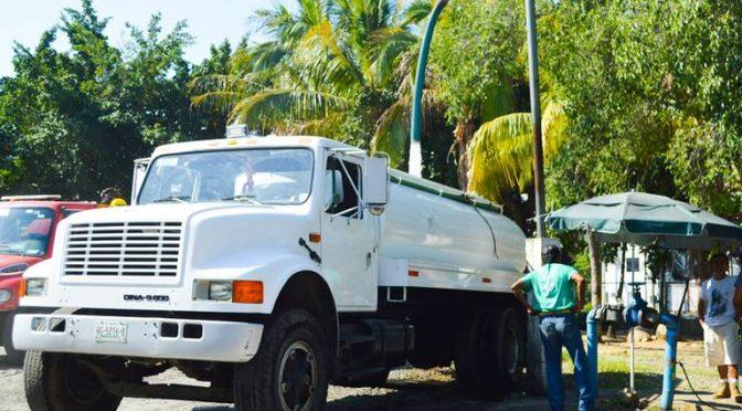 Acapulco: Condiciona CAPAMA reparto de agua en pipas (El Sol de Acapulco)
