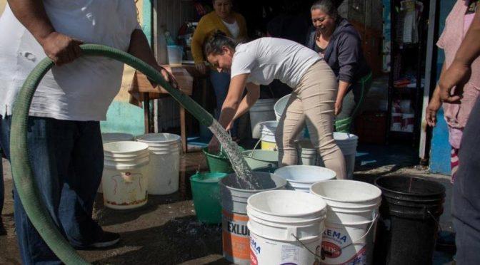 CDMX: PAN propone que IP participe en gestión del agua (Milenio)