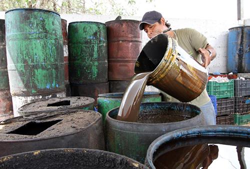Quintana Roo: Se sacan de Cozumel cada mes, aceites vegetales y de automóviles (El semanario)