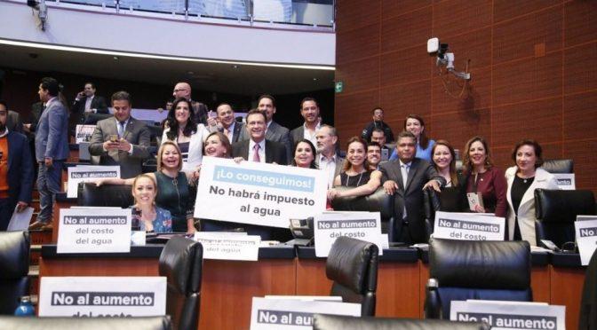 """CDMX: Senado """"tumba"""" aumento a cobro de agua de riego (Milenio)"""