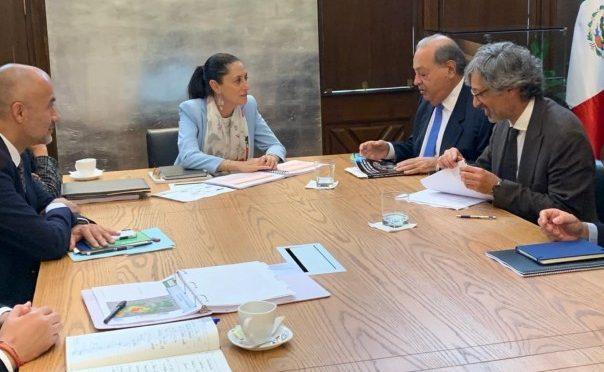 Carlos Slim se reúne con Sheinbaum para invertir en sistema de aguas de CDMX, sin privatizarla (El Heraldo de México)