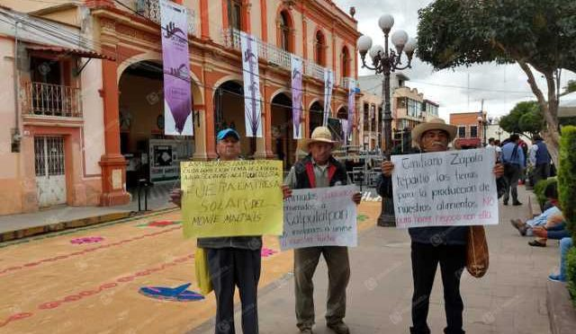 Tlaxcala: Protestan campesinos durante la conmemoración en Calpulalpan (e-consulta)