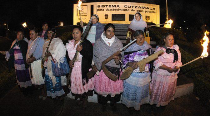 Lucha por el agua de mujeres indígenas Mazahuas, Mexico (Enviromental Justice Atlas)