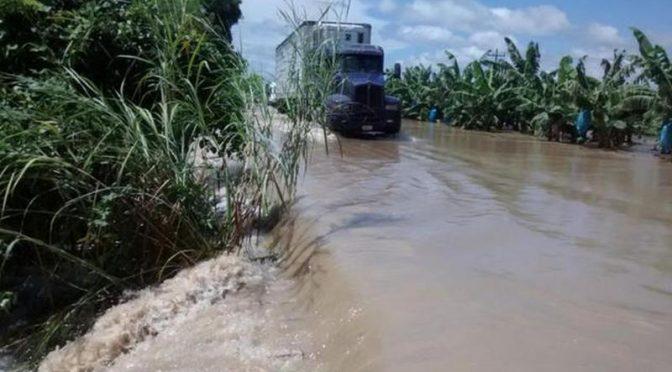 Tabasco: Suben niveles en ríos serranos (Infórmate)