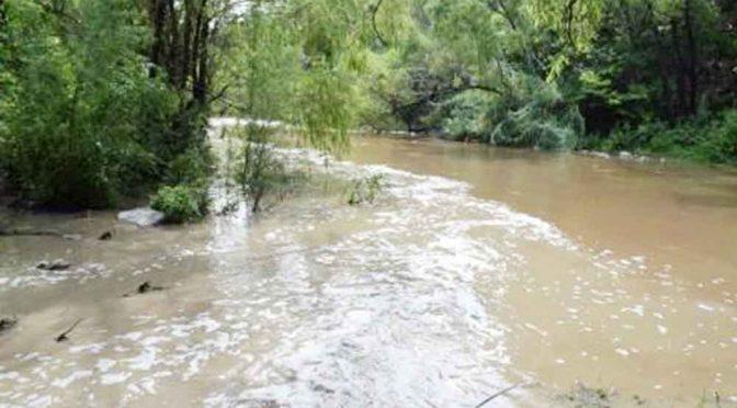Río de Chiapas en negligencia ambiental (Diario de Chiapas)
