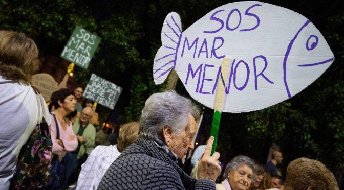 Retiradas 1.800 toneladas de residuos del Mar Menor desde las lluvias de septiembre (El País)