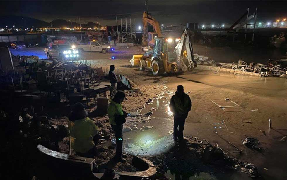 Reparaciones en recicladora dejan sin agua a vecinos de Anthony (Diario MX)