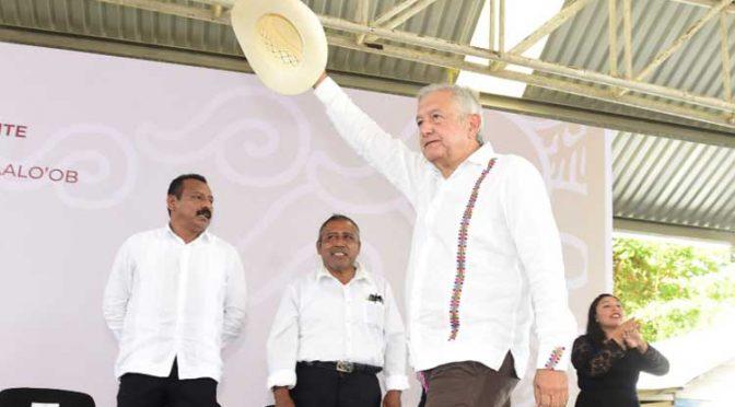 López Obrador promete abasto de agua a pueblos indígenas (Uno TV)