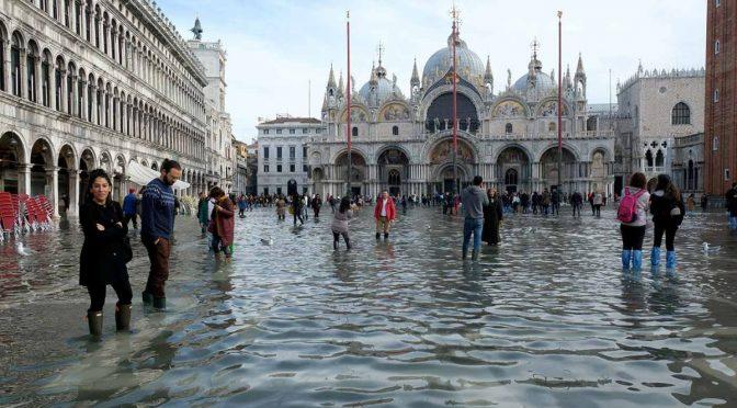 Italia: Venecia sigue con el 'agua al cuello' (Excelsior)