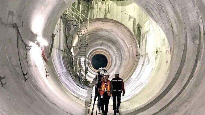 México: Túnel Emisor Oriente, listo para su debut (Excelsior)
