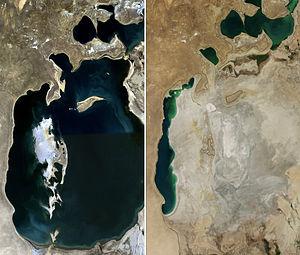 Seis países y sus 60 millones de habitantes dependen de un mar que está a punto de convertirse en un desierto fantasma (Infobae)