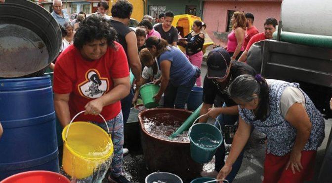 CDMX: 7 meses más durará la reducción de agua del Cutzamala a la capital mexicana (El Informante)