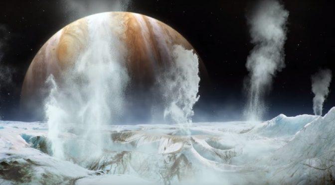 Detectan por primera vez la presencia de vapor de agua en un satélite de Júpiter (RT)