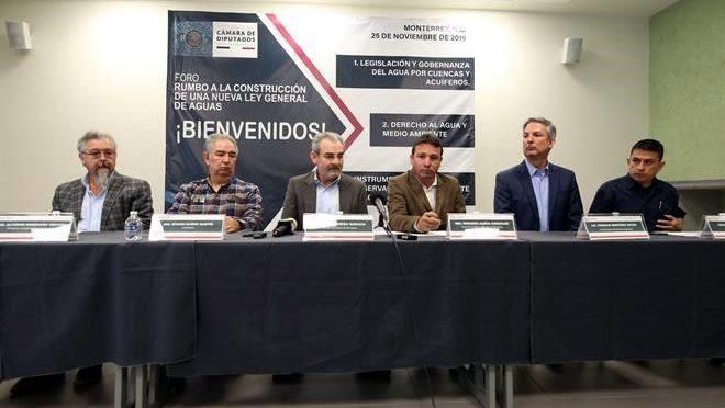 Nuevo León: Anuncian foro para crear Ley General de Aguas (El Norte)