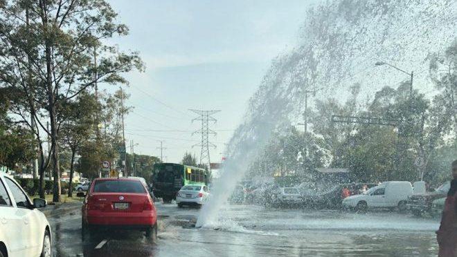 Por fugas en red hidráulica, CdMx pierde 40% de agua: Sacmex (Milenio)