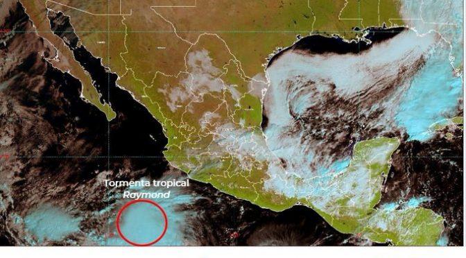 "México: Nace tormenta tropical ""Raymond""; dejaría lluvias en Jalisco (Informador.mx)"