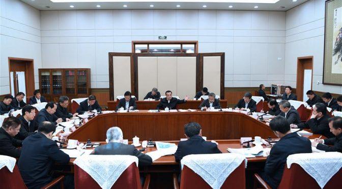Primer ministro chino pide esfuerzos para impulsar proyecto de desviación de agua (Spanish People)