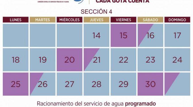La sección 4 no tendrá agua este miércoles 20 (Newsweek México)