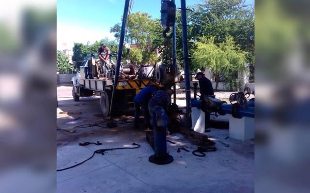 Inicia el mantenimiento preventivo de pozos de agua (El Sol de la Laguna)