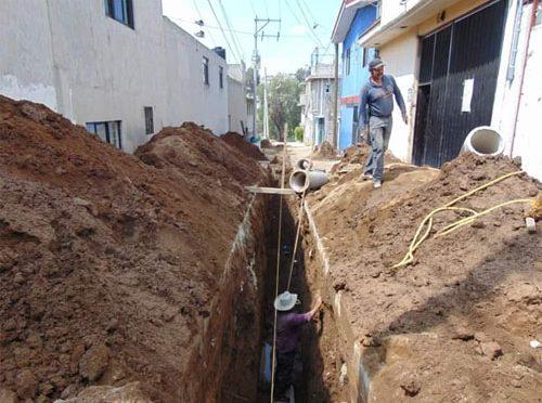 Edomex: Ixtapaluca inicia 32 obras de drenaje y agua potable (Diario Amanecer)