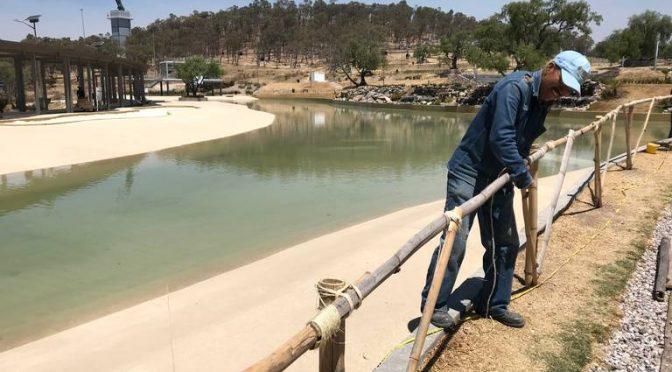 Rescatará Comuna de Puebla jaguey del parque Amalucan para reciclar el agua (El Sol de Puebla)