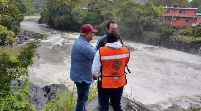 Veracruz: #Alerta Abren compuertas de Presa Canseco en Los Tuxtlas (Billie Parker)