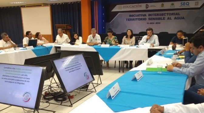 Quintana Roo fomenta el cuidado de sus recursos hídricos (Quintana Roo Hoy)