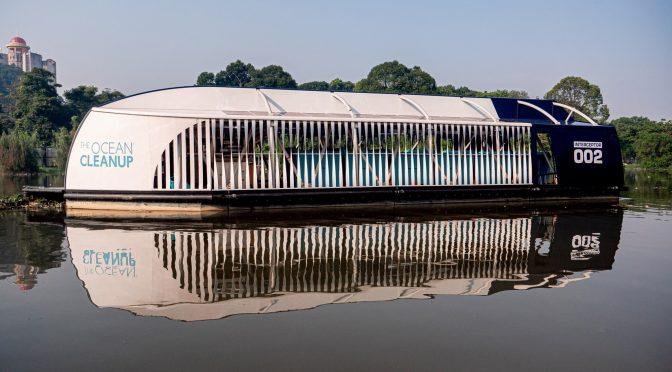 Robot ecológico: Un barco que absorbe el plástico de los ríos y lo recicla (Cultura Geek)