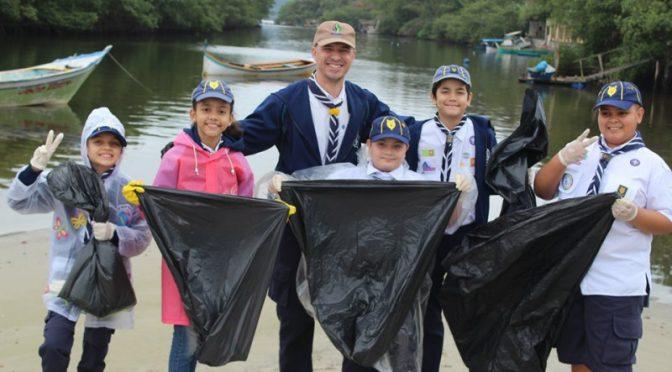 Panamá: Scouts de América Latina y el Caribe se unen a los esfuerzos globales por Mares Limpios (ONU Noticias)