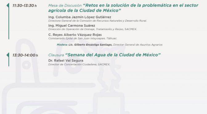 Semana del Agua: Agua y Campo (SACMEX)