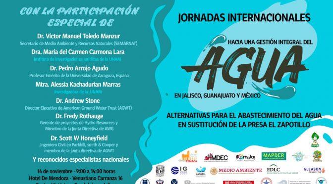 Jornadas Internacionales hacia una gestión integral del Agua