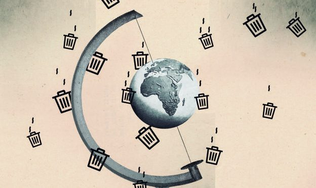 La chatarra tecnológica se hace fuerte en el espacio (La Rioja)