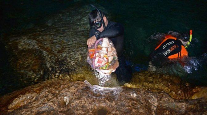 Yucatán: Mexicanos usan cenotes como basurero, encuentran basura electrónica y hasta refrigeradores (Noticias ZMG)