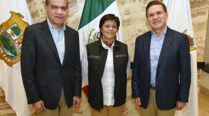"""Durango y Coahuila impulsan proyecto """"Agua Saludable para La Laguna"""" (Multimedios)"""