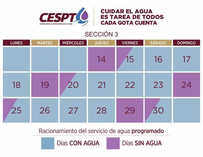 CESPT: Comienza racionamiento del agua para la Sección 3 (Telemundo 20)
