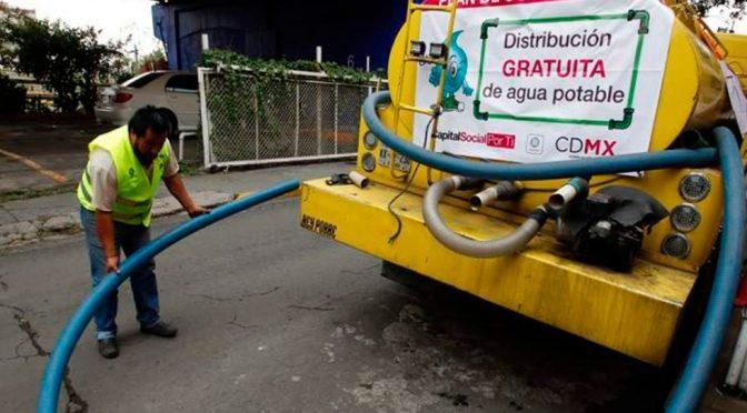 Ciudad de México enfrenta grave reto en agua potable y alcantarillado (López Dóriga Digital)